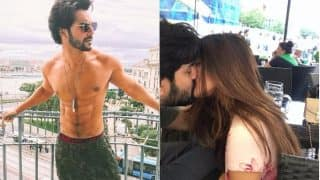 "Varun Dhawan Flaunting His ""Cheap"" Underwear, Riya Sen's Passionate Lip Lock With Her Hubby – A Look At The Pictures That Went Viral This Week"