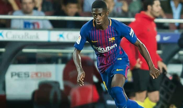Striker Ousmane Dembele Returns to Training For Barcelona After Three Months