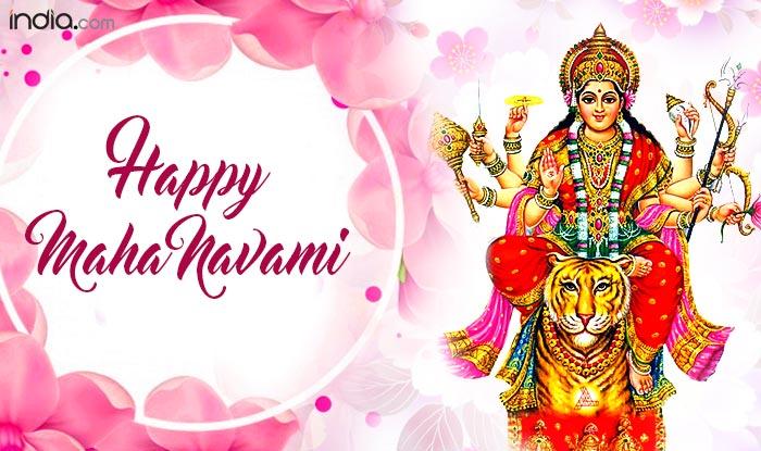Durga Navami 2017 Wishes: Happy Maha Navami Messages, WhatsApp GIF Images, Quotes to Send Shubho Navami Greetings