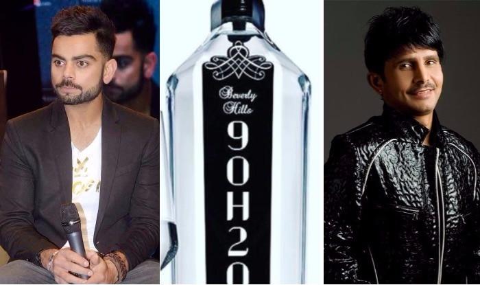India To Get Rs 65 Lakh Luxury Bottled Water Virat Kohli