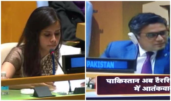 At UN General Assembly, Pakistan accuses India of war crimes in Kashmir, India Gives Strong Reply | UN में भारत की दो टूक- 'टेरररिस्तान है PAK', सुनकर बगले झांकने लगे पाक अधिकारी