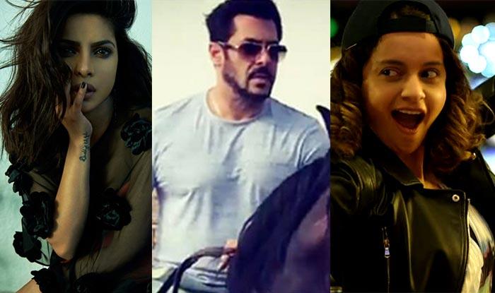 Priyanka Chopra Stirs Up A Controversy; Salman Khan Wraps Tiger Zinda Hai; Kangana Ranaut Has The Last Laugh: Bollywood Week In Review