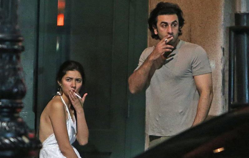 Ranbir Kapoor And Mahira Khan Hang Out Together, Actress Gets Trolled For Her Dress And Smoking – Check Tweets