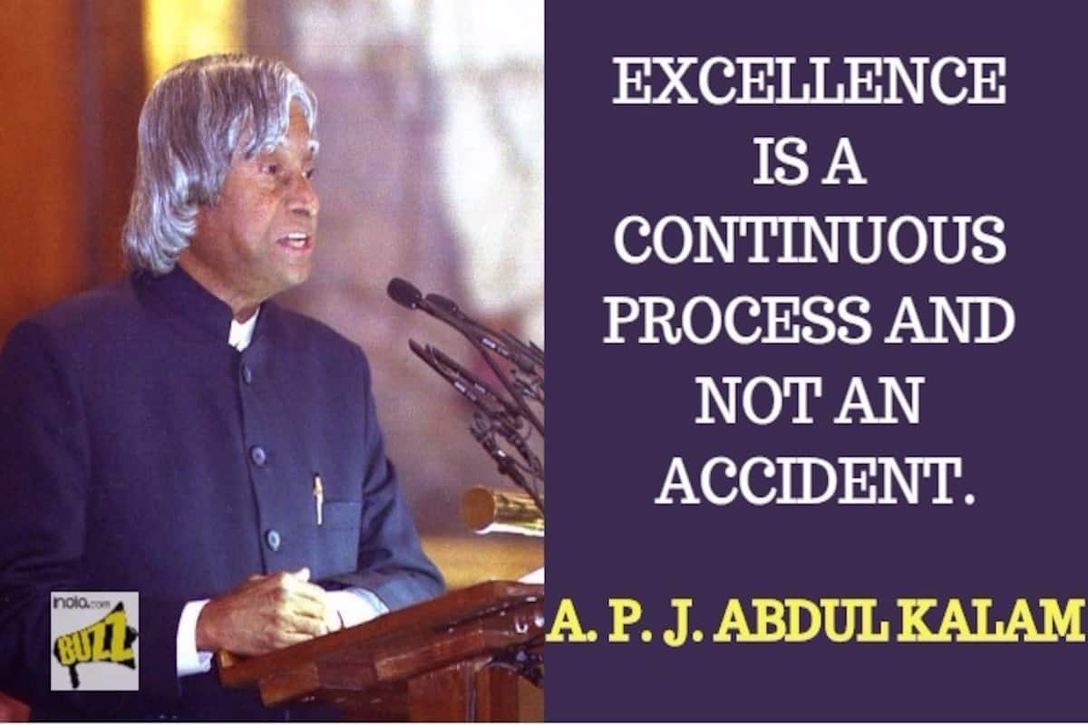 Dr Apj Abdul Kalam Birth Anniversary Special Inspirational Thoughtful Quotes On Life Dreams By The Missile Man India Com