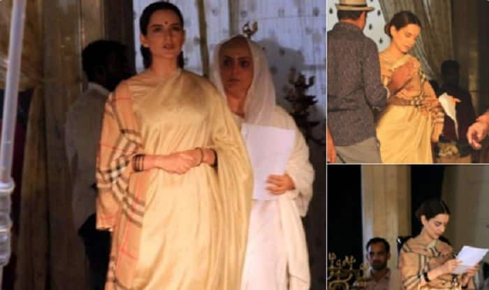 LEAKED: Kangana Ranaut's Latest Photos From The Sets Of Manikarnika: The Queen Of Jhansi Show How Effortlessly She Has Slipped Into Her On Screen Character