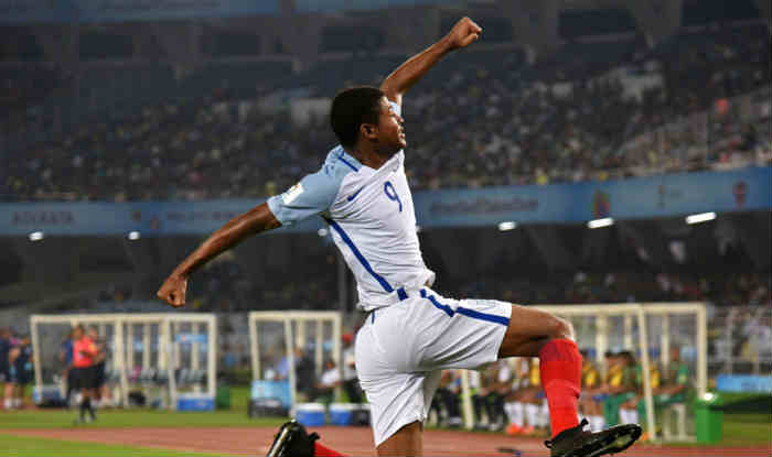 FIFA U-17 World Cup 2017: England's Rhian Brewster Trumps All to Be Top Goal-Scorer at the Tournament