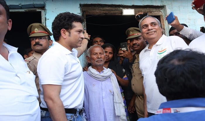 Every Person Should Take Responsibility to Provide Electricity to Villages, Says Sachin Tendulkar in Barabanki Visit