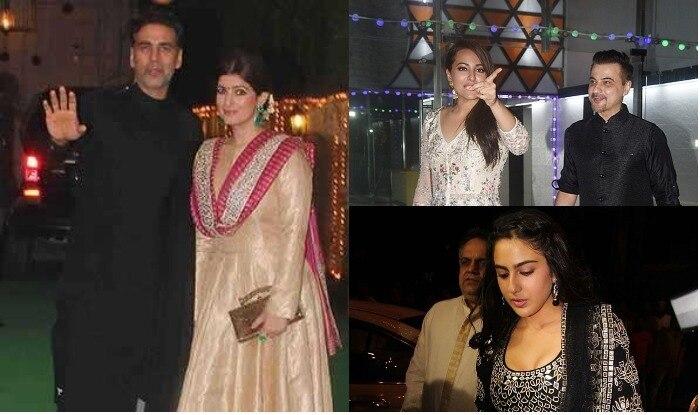 Ekta Kapoor Diwali Celebration: Akshay Kumar to Sanjay Dutt spotted at party  |  एकता कपूर की दिवाली पार्टी में अक्षय से लेकर संजय दत्त तक ने बिखेरी अपनी चमक, देखें तस्वीरें