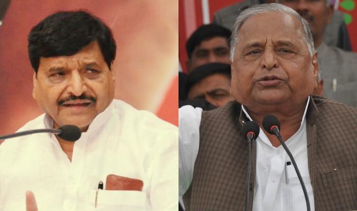 Lok Sabha Polls 2019: Mulayam Singh Yadav Shares Stage With Shivpal Yadav, Latter Asks Him to Join His Party
