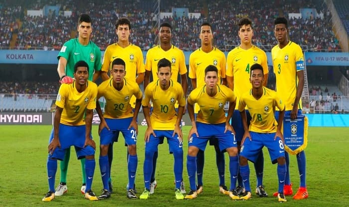 FIFA U-17 World Cup 2017: Brazil Beat Mali 2-0 in Kolkata, Finish Third