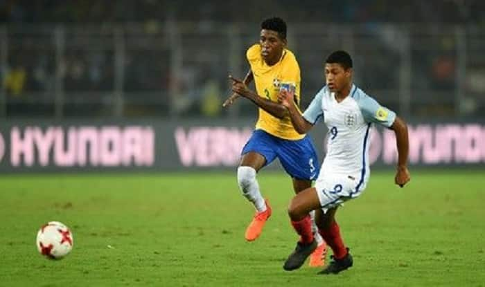 FIFA U-17 World Cup 2017: England Beat Brazil 3-1 to Enter Final, Rhian Brewster Scores Hat-trick