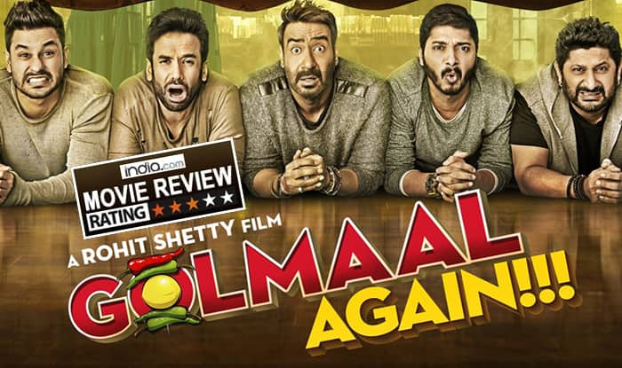 Golmaal Again Movie Review: Ajay Devgn And Gang's Comedy Of Horrors Is Low On Logic And Magic, High On Entertainment