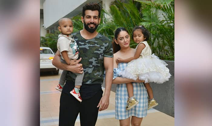 Jay Bhanushali, Mahhi Vij's Latest Picture With Their Adopted Kids Is Too Cute To Miss