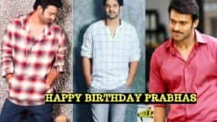 Prabhas Birthday Special: Best Pictures and Looks of Saaho Actor That Will Make You Swoon