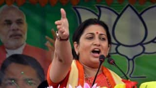 UP Civic Polls: Rajnath Singh, Smriti Irani to be BJP Star Campaigners, Final List on November 7