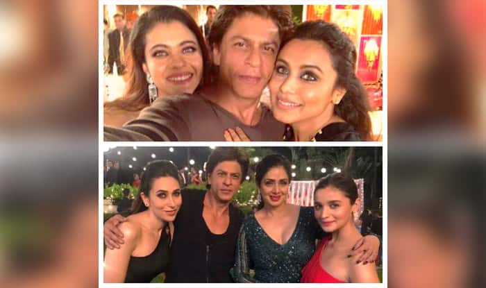 Shah Rukh Khan Posing With Kajol And Rani Mukerji Will Make You Wish To See The Three In A Film ASAP!
