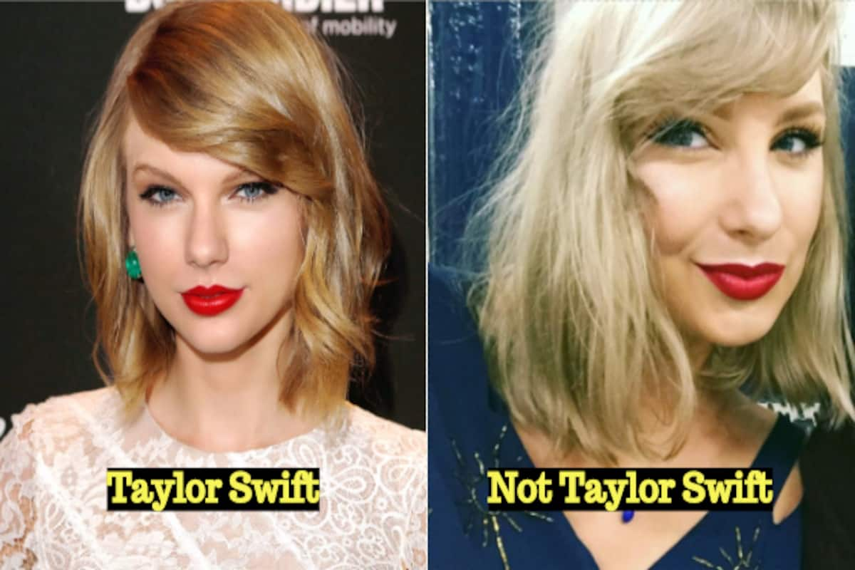 Taylor Swift Look Alike Mobbed By Fans Pictures Confession Of Pop Singer S Doppelganger Will Leave You Amazed India Com