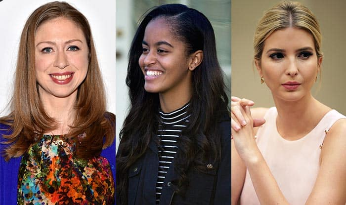 First Daughters Ivanka Trump And Chelsea Clinton Condemn Media Reports on Malia Obama's Social Life