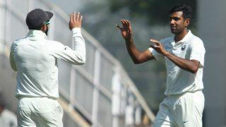 India vs Sri Lanka 2nd Test: Ravi Ashwin Becomes Fastest Bowler to Reach 300 Test wickets, Hosts Take 1-0 Lead