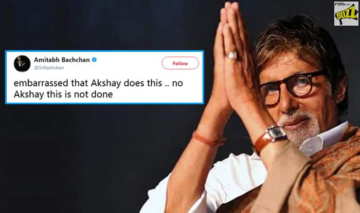 "IFFI 2017: Akshay Kumar ""Embarrassed"" Amitabh Bachchan During The Closing Ceremony"