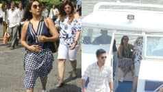 Gauri Khan Leaves For Alibaug To Celebrate Shah Rukh Khan's 52nd Birthday (View Pics)