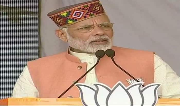 Himachal Pradesh Assembly Elections 2017: Corruption is The Only Identity of Congress, Says PM Narendra Modi in Palampur