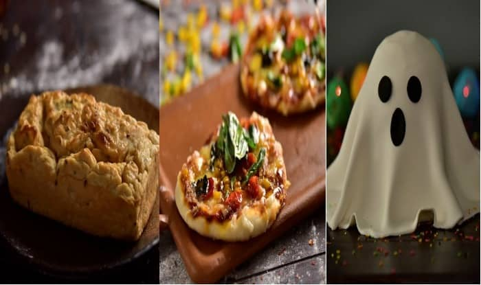 Easy Baking Recipes: Maria Goretti Shares Delicious Recipes for Ghost Cake, Lentil Bread and Mini Veggie Pizza