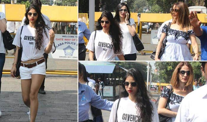 Suhana Khan Makes Heads Turn Casual Yet Chic Avatar As She Heads For Daddy Shah Rukh Khan's 52nd Birthday !