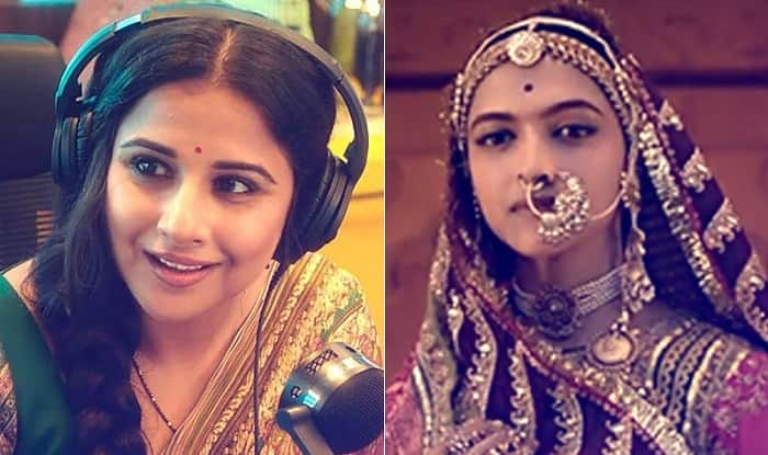 Vidya Balan On The Padmavati Controversy: All Films Should Be Allowed To Release In The Way They've Been Made
