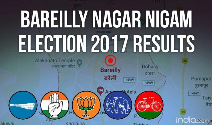 Bareilly Nagar Nigam Election 2017 Results News Updates: Umesh