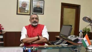 Begusarai: Incensed Over 'Discrimination' in Flood Relief Actions, Giriraj Singh Lashes Out at Official   Watch
