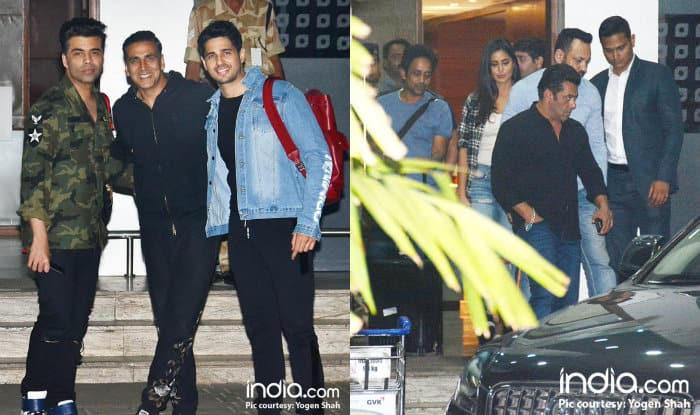 Akshay Kumar, Sidharth Malhotra, Salman Khan, Katrina Kaif Return From IFFI 2017 Looking All Cheerful (View Pics)