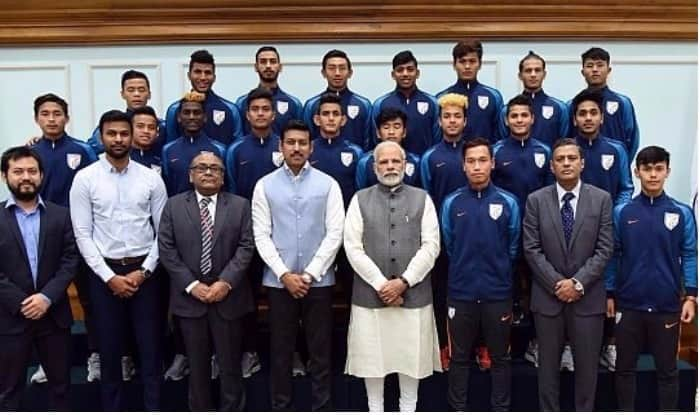 PM Narendra Modi Meets Under-17 World Cup Team, Says India Can Achieve a Lot in Football