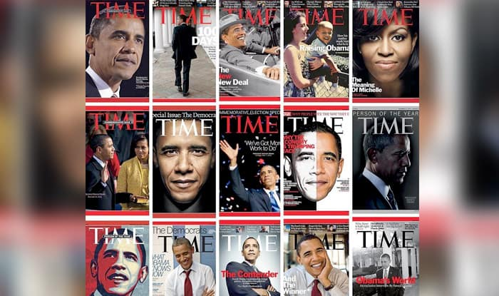 Barack Obama's Ex-White House Photographer Pete Souza Trolls Donald Trump With Former's Time Magazine Covers