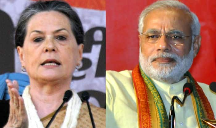 Congress CWC Meet: Sonia Gandhi Hits Out at PM Modi, Accuses Him of Playing Politics Over Terror Attacks For Electoral Gains