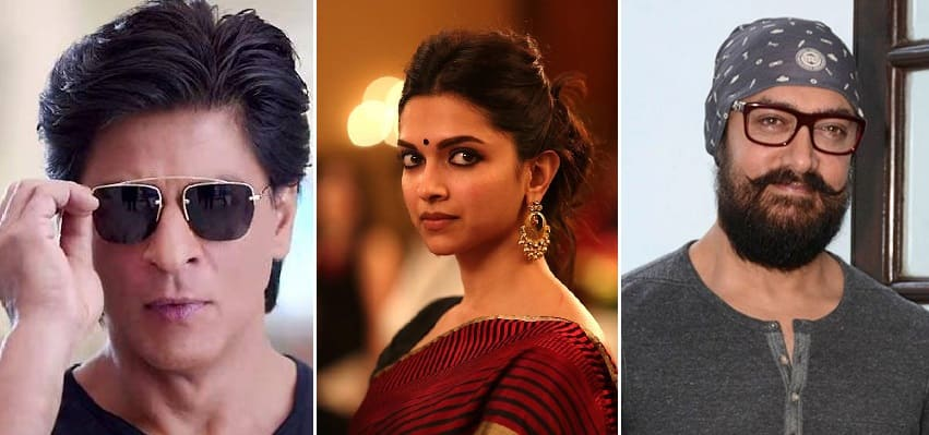 Padmavati Row: Superstars Aamir Khan And Shah Rukh Khan Back Deepika Padukone After The Actress Receives Threats