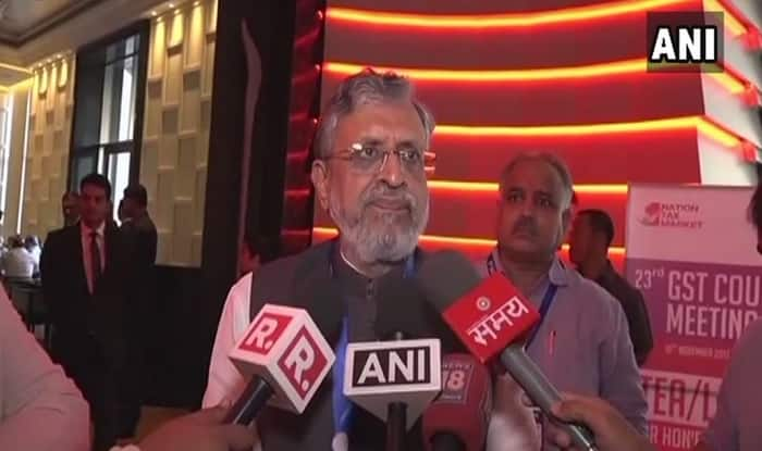 Also Doing Flood Relief Work: Sushil Modi on Criticism Over Watching 'Super 30' Twice