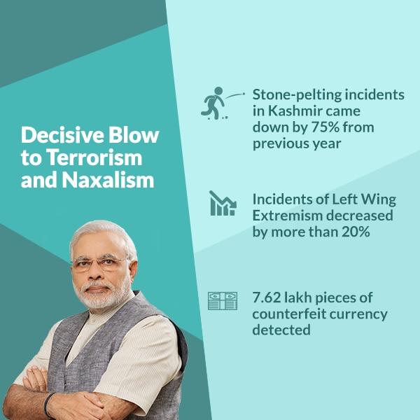demonetisation a blow to terrorism and naxalism