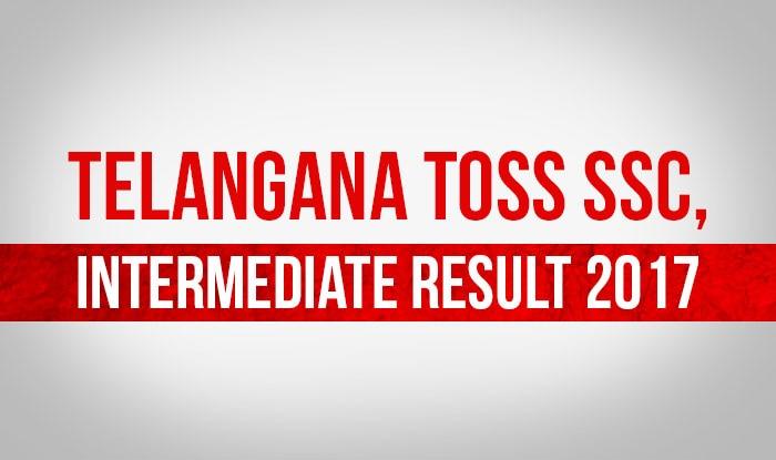 Telangana TOSS SSC, Intermediate Supplementary 2017