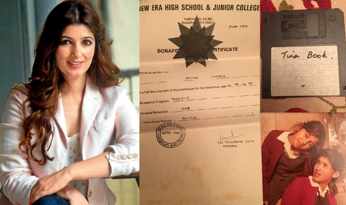 Twinkle Khanna Shares Childhood Treasures, a School Certificate, a Forgotten Picture With Sister Rinke and a Floppy disc with First Writings