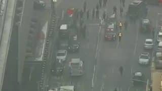 Explosion Reported Near Times Square in New York, Suspect Held