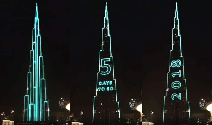 Dubai's Burj Khalifa is Preparing to Break Guinness World Record With a Thunderous Light Show on New Year's Eve (Video)