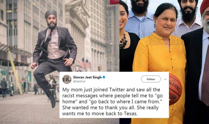 This Sikh Professor's Mother Won the Internet With Her Savage Reply To Racists on Twitter