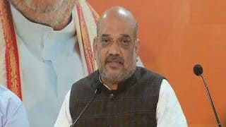 Congress Must Clarify Its Stand on Ram Mandir Issue, Says BJP President Amit Shah