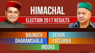 Baijnath, Dehra, Dharamshala, Fatehpur, Indora Election 2017 Results: BJP Destroys Congress in Kangra