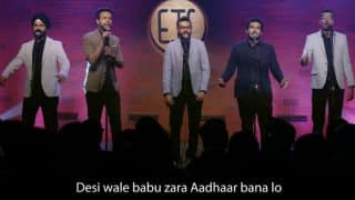 EIC's Aadhaar Song Hilariously Takes a Dig At GST, Demonesation And Of coure, Privacy