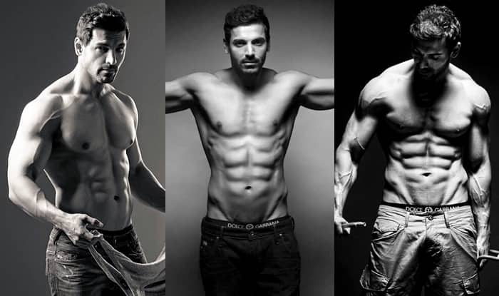 10 pics of John Abraham that say he is getting sexier by