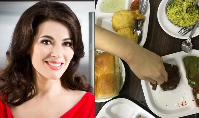 Nigella Lawson Says the Best Thing she ate in 2017 was a Vada Pav at Ladoo Samrat in Mumbai