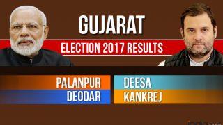 Palanpur, Deesa, Deodar, Kankrej Election 2017 Results Updates: Counting For Vidhan Sabha Seats in Gujarat