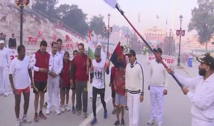 Samir Singh, Ultra Marathon Runner, Starts 15,000-km Run From Attari-Wagah Border to Raise Funds For Martyrs' Families